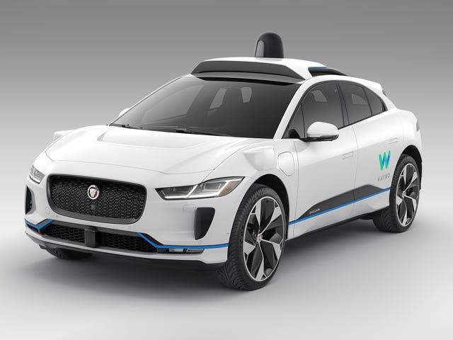 Google's Waymo werkt samen met Jaguar Land Rover tegen 2020 tot 20.000 autonome I-Paces