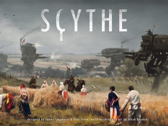 Scythe是一个很大的补充,你的棋盘游戏收集,它从来没有更便宜