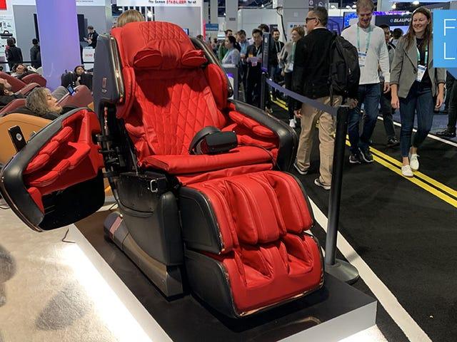 Ce fauteuil de massage VR «Esqape» avec vos économies de vie