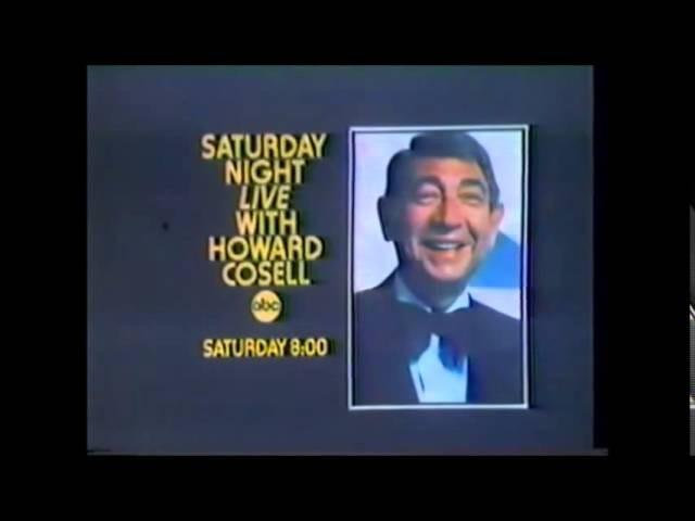 Howard Cosell ile Orijinal Cumartesi Gecesi Canlı