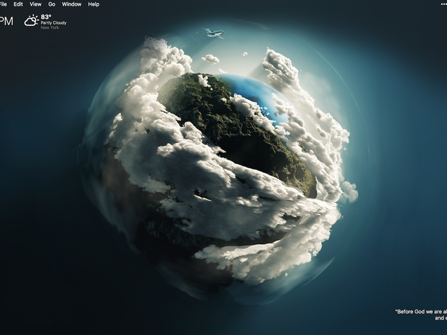 The Shrouded World Desktop
