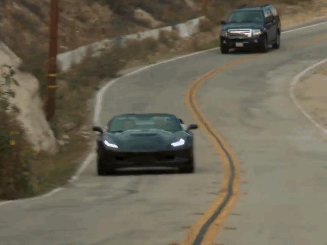 Tonton Jay Leno Dapatkan Busted Dalam Corvette Z06 Baru