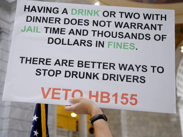 Utah Now Has The Harshest Anti-Drunk Driving Laws In The U.S.