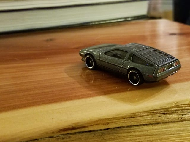 New DeLorean! And what's on the bench?