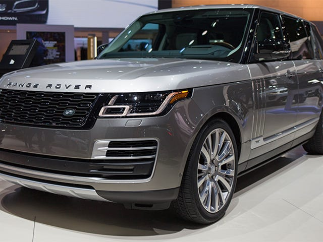 Good Luck Finding Every Button In The $200,000 Range Rover SVAutobiography