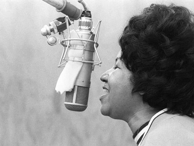 R.I.P. Aretha Franklin, the Queen of Soul