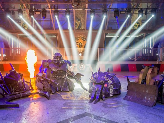 BBC Axe Robot Wars