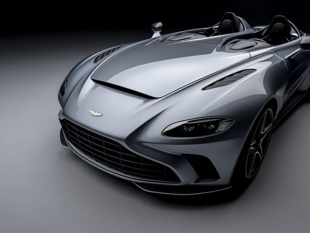 Kami Ingin Anda Membeli Speedster Aston Martin V12 Dan Kami Ingin Anda Menderita