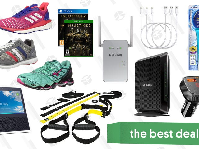 Wednesday's Best Deals: Running Shoes, TRX Suspension Kit, Wine Fridges, and More