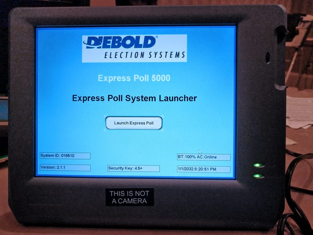Personlig information om 650 000 väljare upptäckta på enkätmaskin som säljs på Ebay