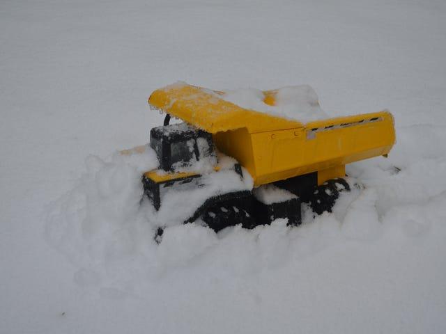 Last Week's Snow