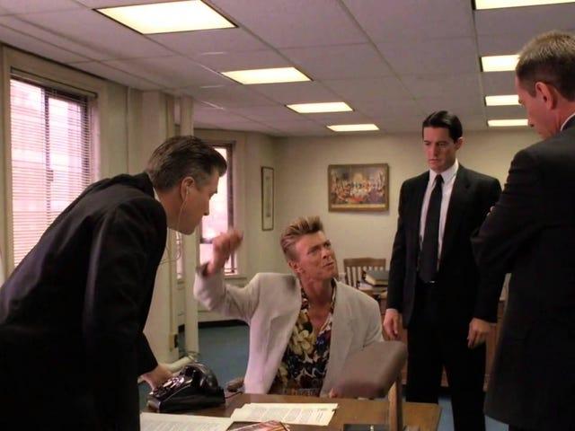 David Lynch quería que David Bowie protagonizara los nuevos <i>Twin Peaks</i>