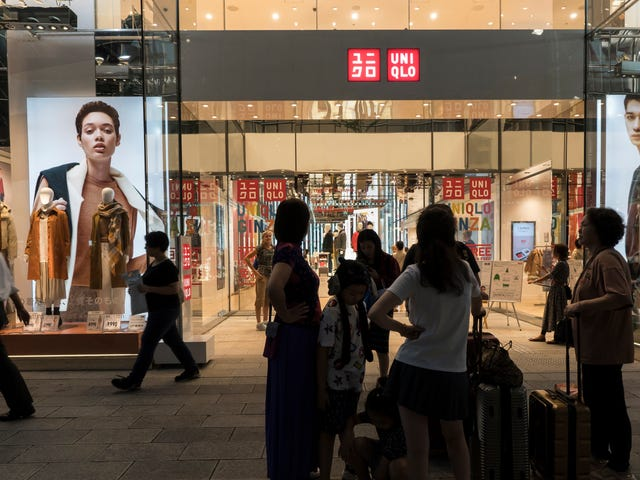 Uniqlo Yanks-annonce i Korea Efter oversvømmet oversættelse ser ud til at narre WW2-sexslaver