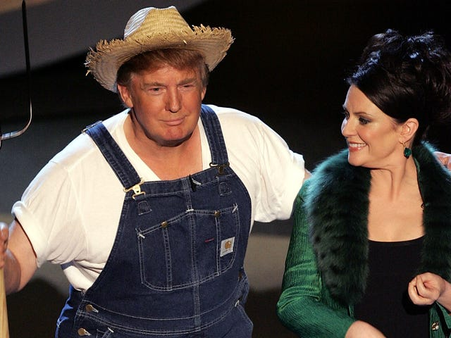 Our President Just Tweeted a Photo of Himself Wearing a Hillbilly Onesie and We're Probably All Going to Die