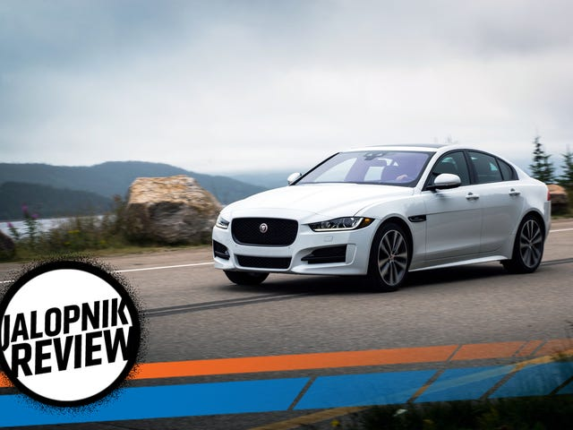The 2018 Jaguar XE Would Be The Perfect Sport Sedan If It Was More Exciting