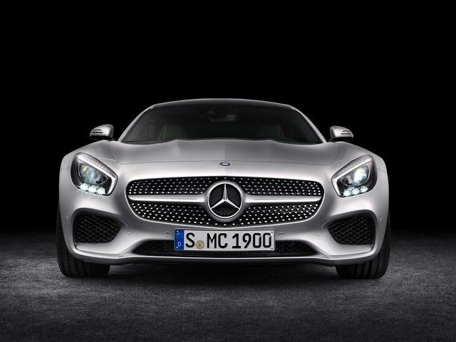 Jakiś Mercedes-AMG GT Pixel Art zrobiłem dla szkoły