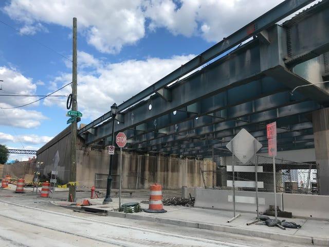 Update: PennDot Reconstruction Project, I-95 South, Port Richmond Philadelphia