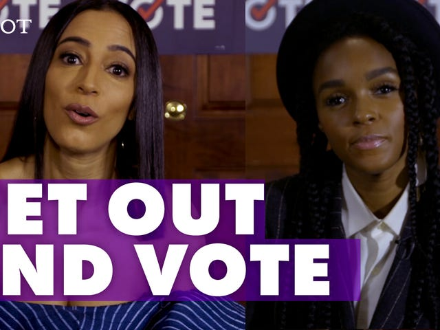 Janelle Monáe and Angela Rye Have One Message: Go Vote