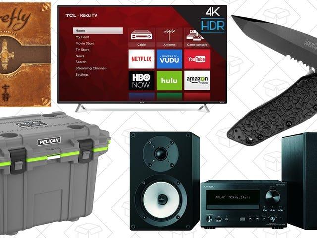Найкращі пропозиції в неділю: Outdoor Gear, 4K TV, Firefly та багато іншого