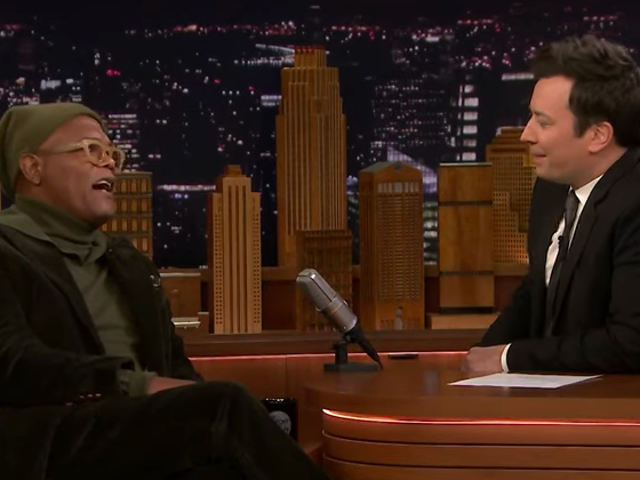 On The Tonight Show, Samuel L. Jackson counts down his five favorite Samuel L. Jackson characters