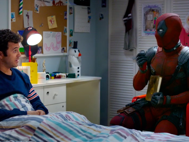 Fred Savage Grills Ryan Reynolds on the Reason for a PG-13 Deadpool
