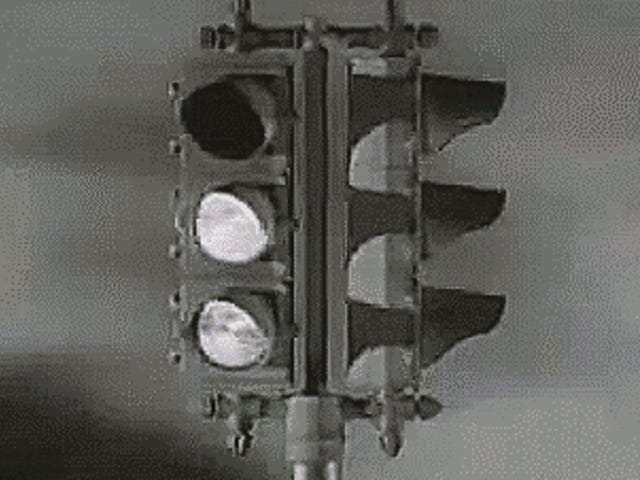 Los semáforos de Estados Unidos solían ser una pesadilla confusa