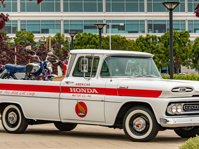 Here's Why Honda Just Restored This Sweet Old Chevy Pickup