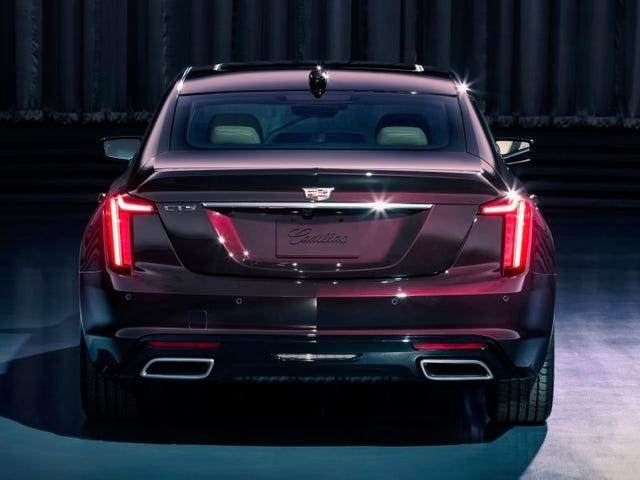 Cadillac replaces the CTS
