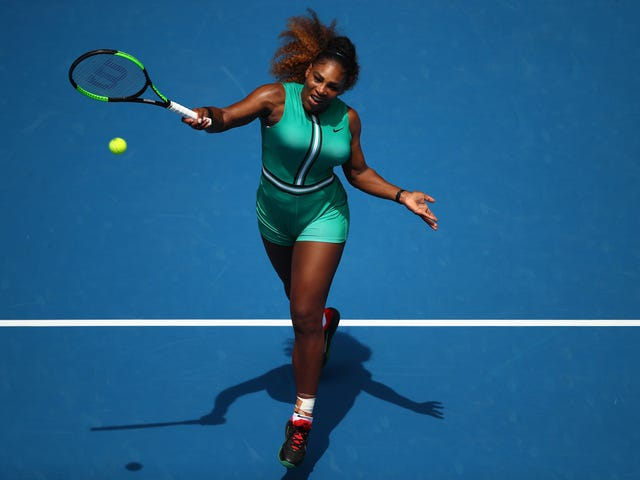 Romper Room: Serena Williams Serves a New Spin on Her Famed Catsuit at the Australian Open