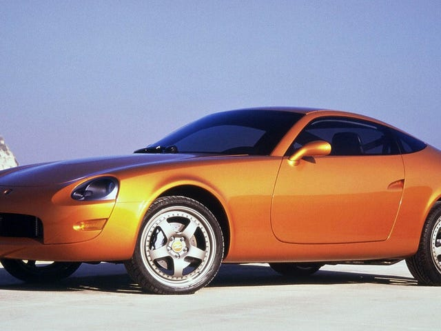 The 1999 Nissan Z Concept Was AFascinating First Draft