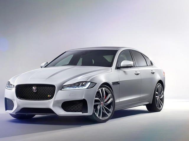 2015 Jaguar XF: นี่แหละ