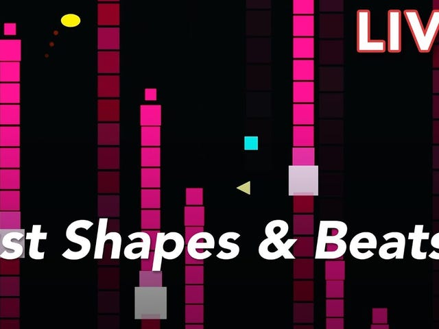We're streaming Just Shapes & Beats live on YouTube!