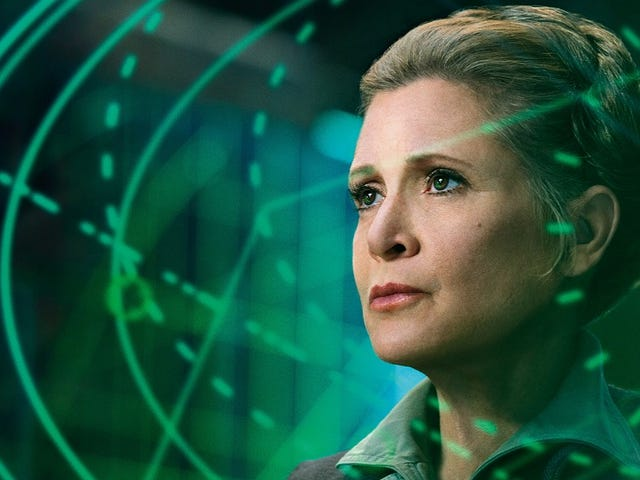 Carrie Fisher ya había terminado de grabar todas sus escenas en <i>Star Wars: Episode VIII</i>