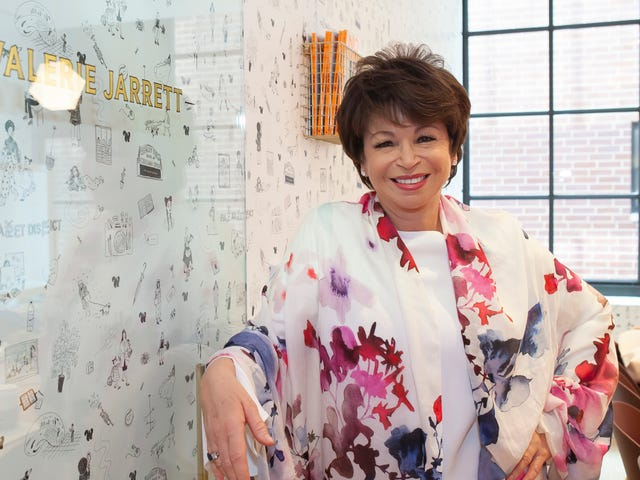 Finding My Voice: With Her New Memoir, Valerie Jarrett Shares the Wisdom of Life's Many Chapters