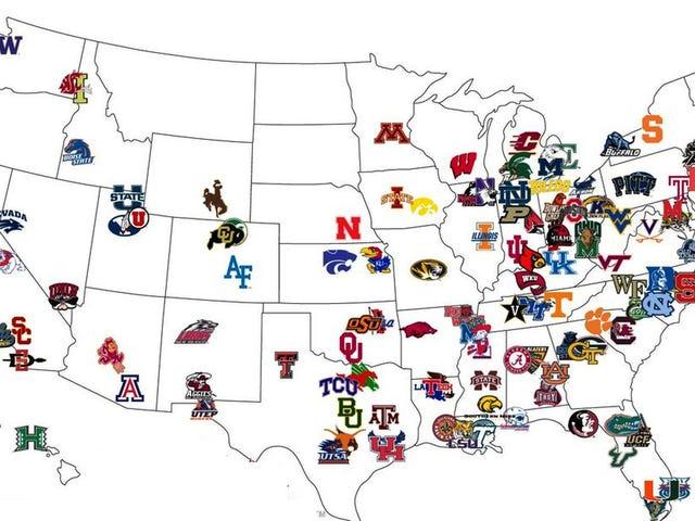 Låt oss fixa college fotboll: konferens omställning