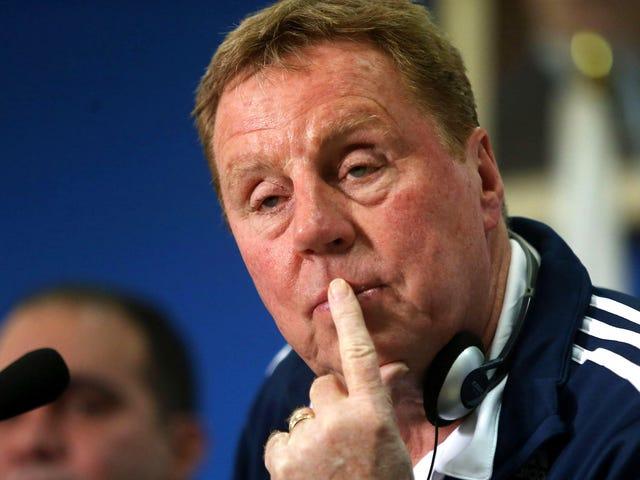"""Harry Redknapp lurer på """"hvem gir en dritt?""""  Om sine spillere som satser på kampene"""