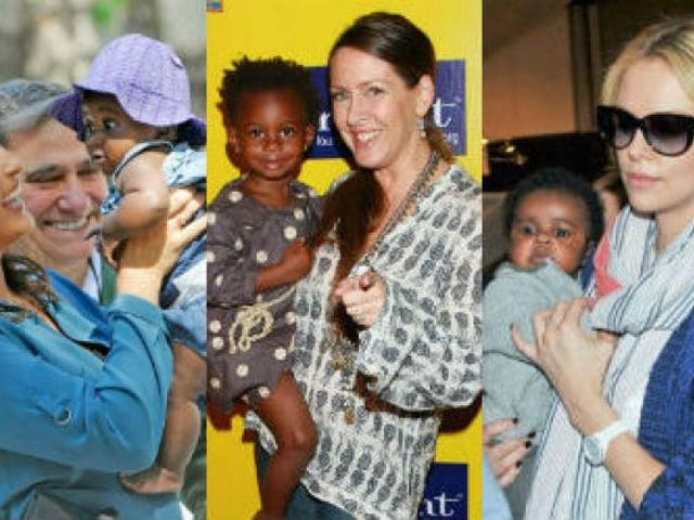 White Celebrities Who Have Adopted Black Children