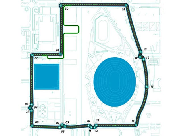 Totally Real Formula E Beijing Circuit Is Chicane-tastic!