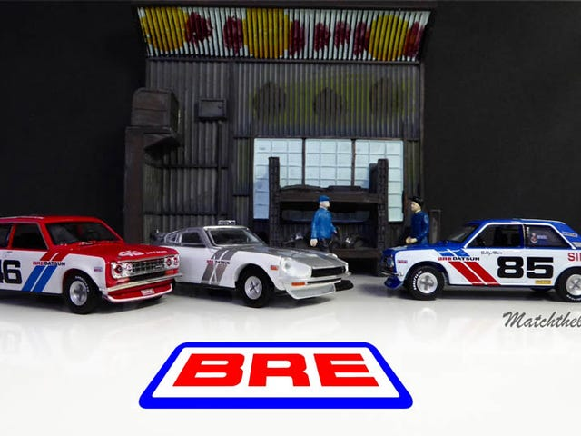 Hot Sixty 4th: GreenLight Datsun BRE collection