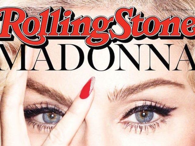 Madonna Nixes 'Boring' Lady Gaga Feud I Lækt Rolling Stone Cover
