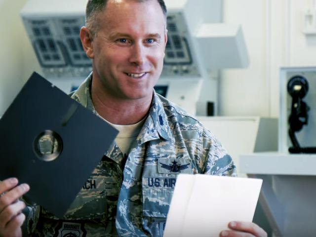 Wojsko USA przestanie używać dyskietek do obsługi systemu broni nuklearnej