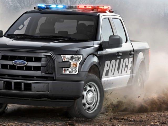 """Får det mer """"Amerika"""" enn en Pickup Truck Police Car?"""