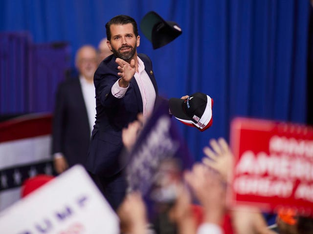 Republican-led Senate Committee Subpoenaed Lil' Donnie Jr. and Trump's Inner Circle Is Pissed