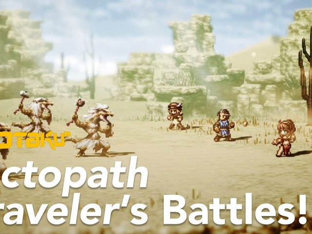 Let&#39;s Analyze A Typical <i>Octopath Traveler</i> Battle