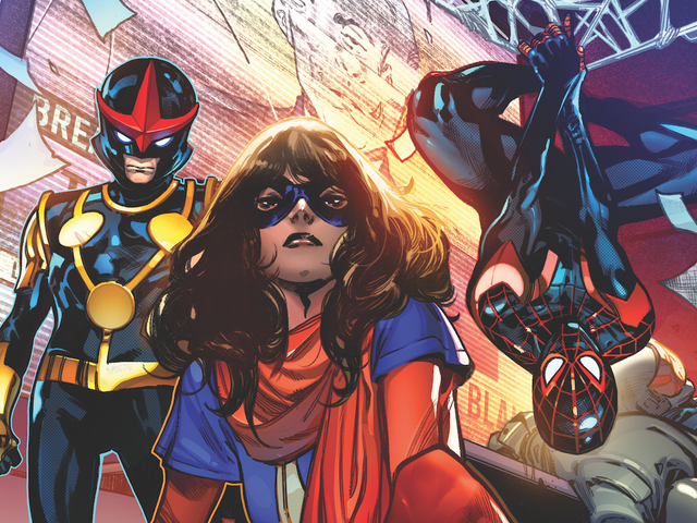 Marvel's teenage heroes are Outlawed in this exclusive first look