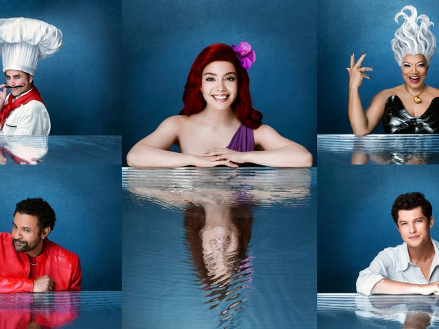 The live but also not live Little Mermaid is about to be part of your wooooorld