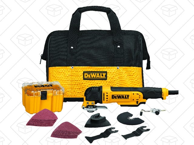 You Should Have an Oscillating Tool, and This One-Day Deal Is Truly Fantastic