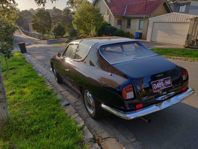Lancia Flavia Sport de Zagato