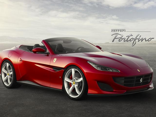 Ferrari Portofino - новый Ferrari для начального уровня