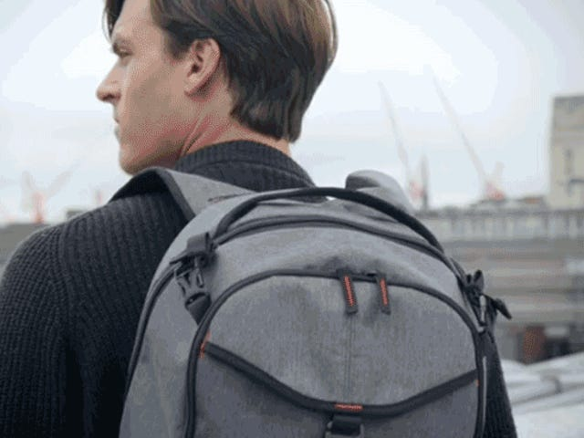 This Retractable Backpack Brings Your Camera to You